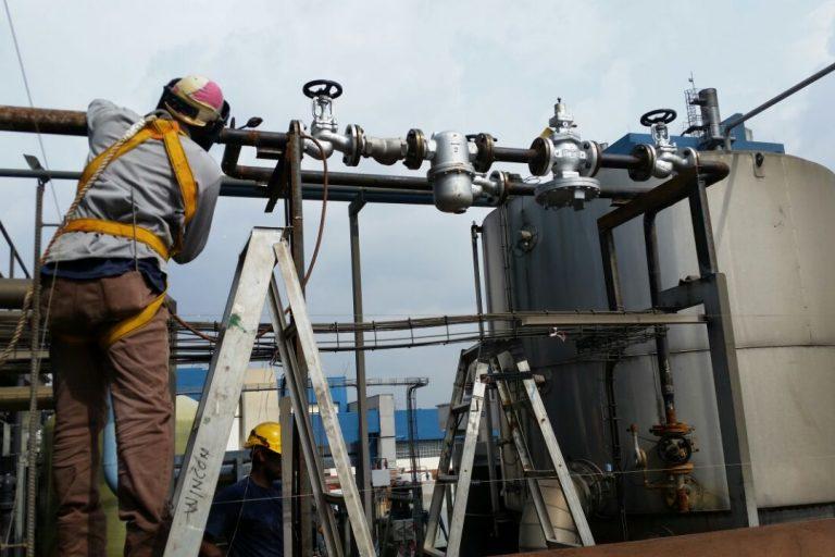 valve installation